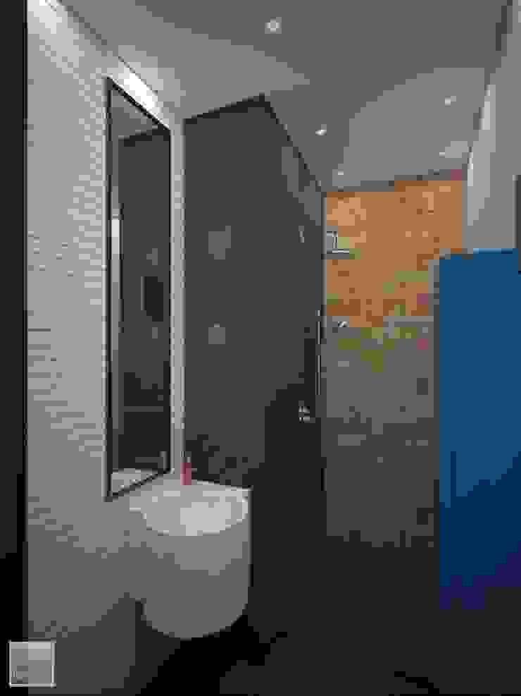 Гостевой санузел Ванная в стиле лофт от Burkov Studio Лофт