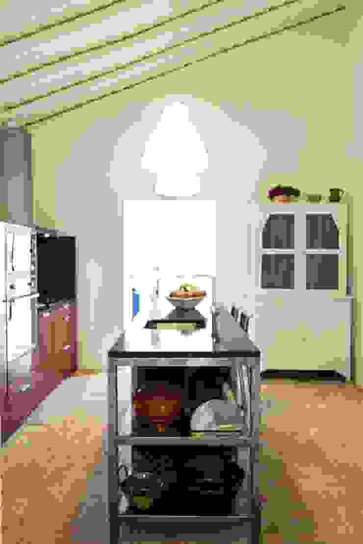 House in Corte Gafo, Mértola Cocinas de estilo minimalista de Estúdio Urbano Arquitectos Minimalista