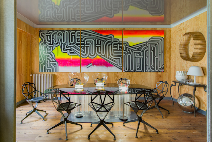 VICTOR HUGO Salle à manger moderne par ZOEVOX - Fabrice Ausset Moderne