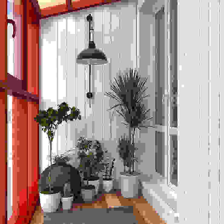 sreda Balcones y terrazas de estilo escandinavo