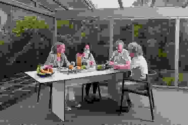 Terrassendach aus Glas Moderner Balkon, Veranda & Terrasse von MR Gruppe Modern