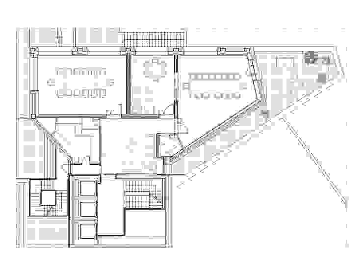 REFORMA PLANTA OFICINAS. EDIFICIO BANKINTER. MADRID. 2014 En colaboración con RAFAEL MONEO de Bescos-Nicoletti Arquitectos