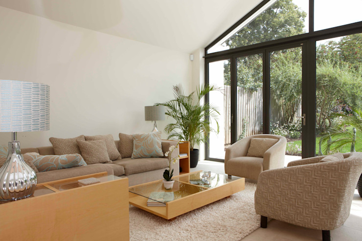 Chiltern Road, Hitchin Modern conservatory by Pentangle Design Modern