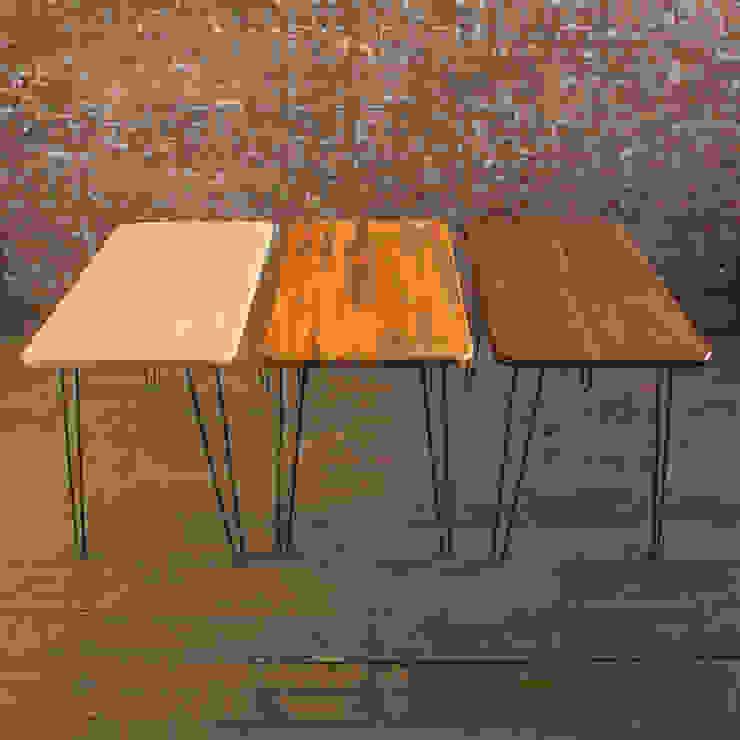 Midcentury Modern Desk in Solid Ash, Iroko & Walnut Biggs & Quail Study/officeDesks