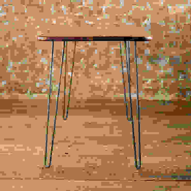 Midcentury Modern Desk in Solid Walnut Biggs & Quail Study/officeDesks