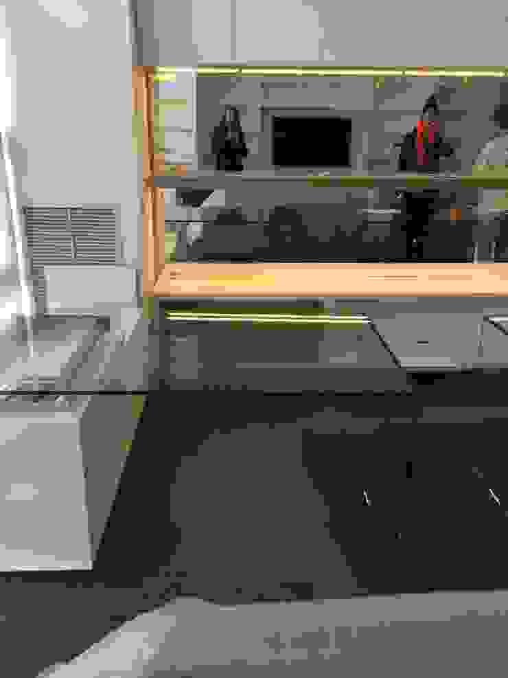 Zona de trabajo Estudios y despachos de estilo moderno de key home designers Moderno