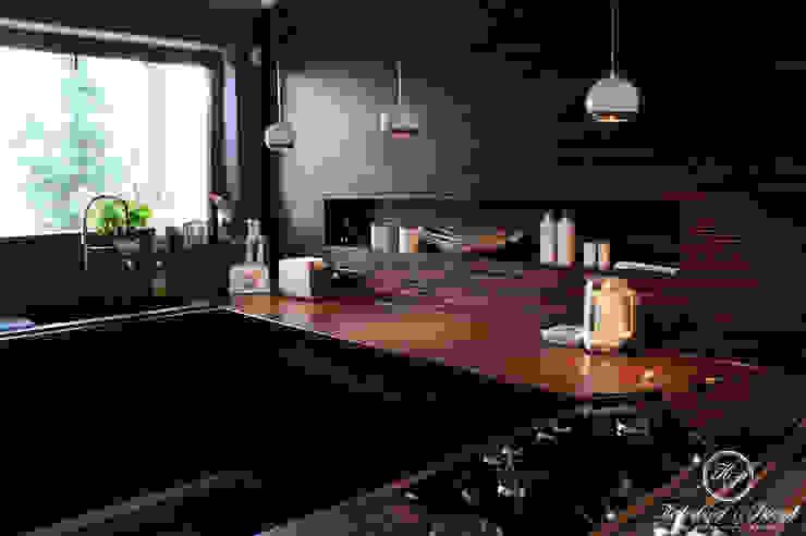 Nhà bếp phong cách hiện đại bởi Kołodziej & Szmyt Projektowanie wnętrz Hiện đại