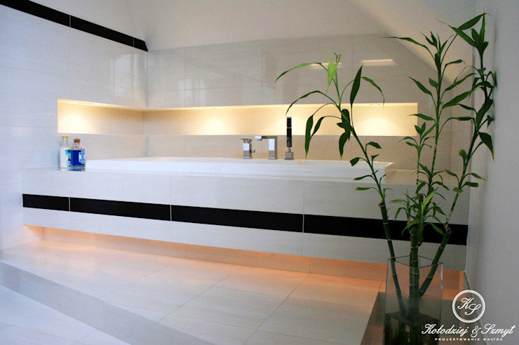 Kołodziej & Szmyt Projektowanie wnętrz Modern bathroom