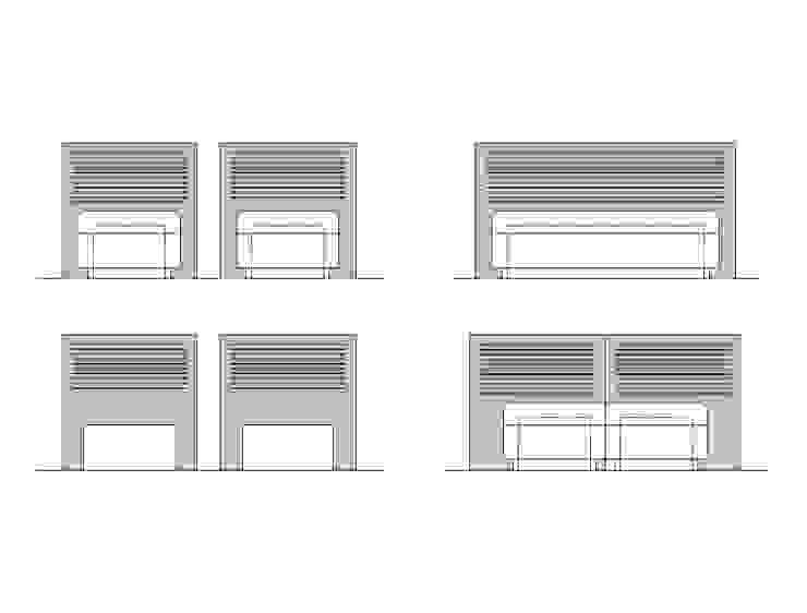 DISEÑO MOBILIARIO E INTERIORISMO APARTAMENTO. SOTOGRANDE. CADIZ. 2012 de Bescos-Nicoletti Arquitectos