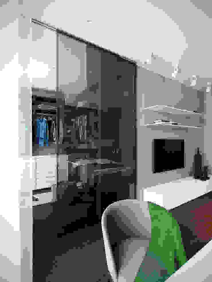 Квартира в ЖК Чемпион-парк Гардеробная в стиле минимализм от Михаил Новинский (MNdesign) Минимализм