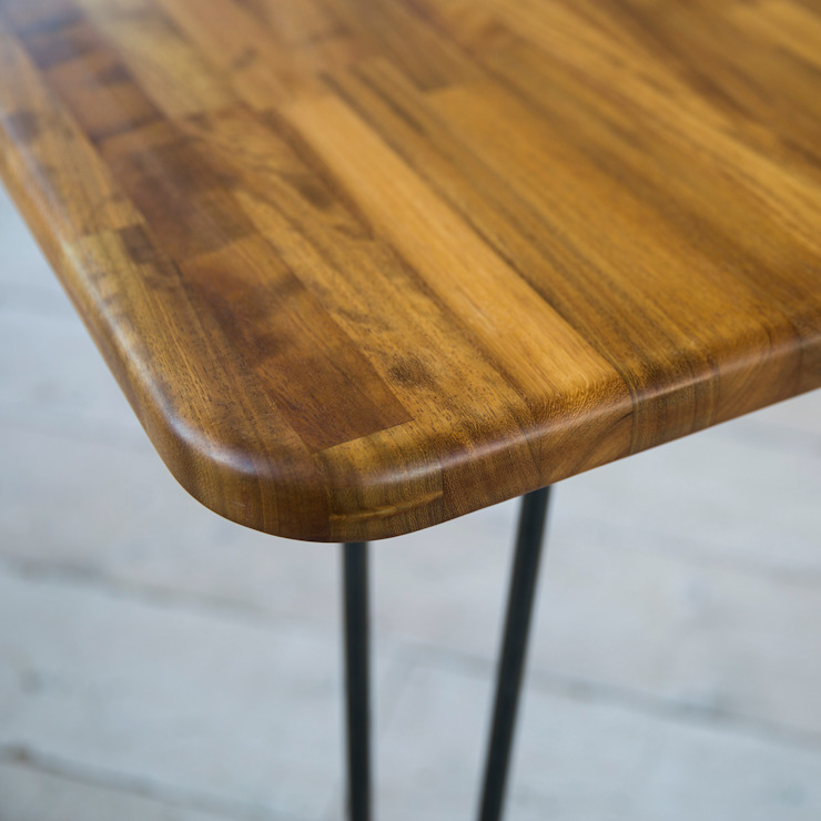 Midcentury Modern Dining Table de Biggs & Quail Moderno