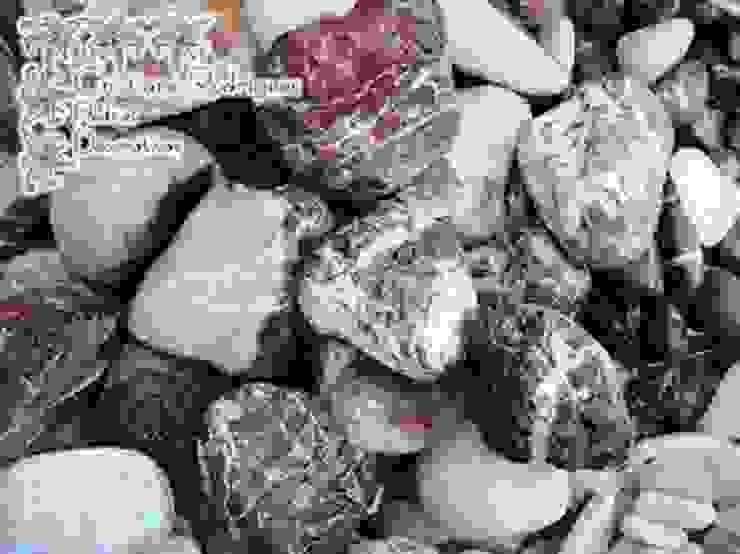 Seixo de Bali Timor Red por Cristiane Rodrigues Pedras Moderno