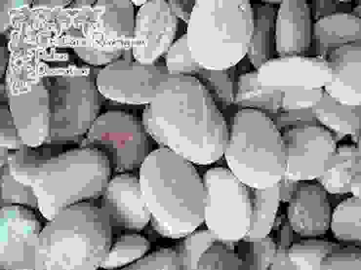 Seixo Timor Pink por Cristiane Rodrigues Pedras Moderno