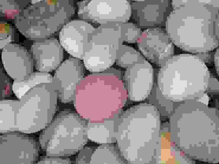 Seixo Beira Rio Colorido por Cristiane Rodrigues Pedras Moderno