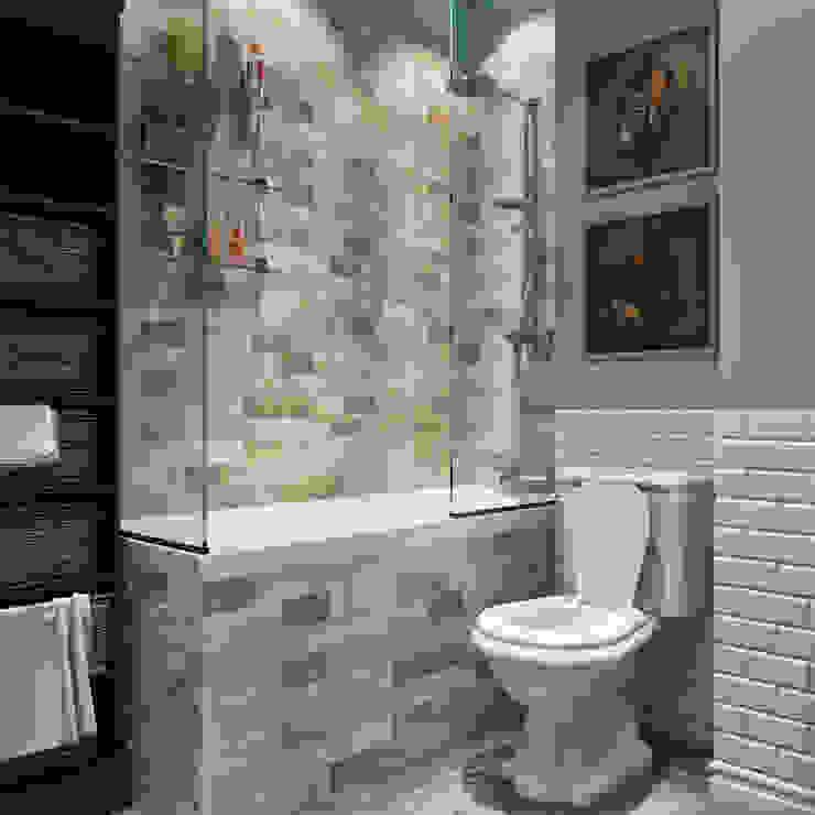 дизайн квартиры 60м2 г. Санкт-Петербург Ванная в классическом стиле от sreda Классический