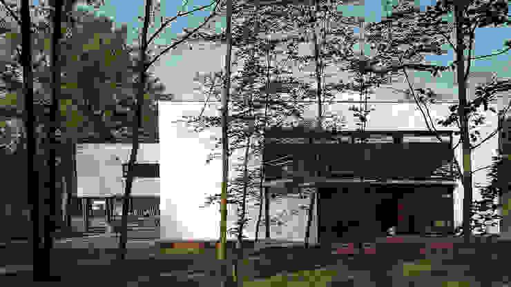 Achtergevel Moderne huizen van Lab32 architecten Modern