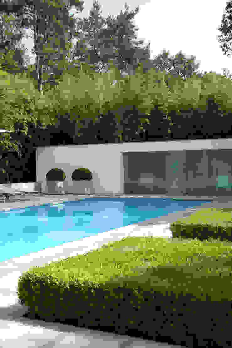 Poolhouse Moderne zwembaden van Lab32 architecten Modern