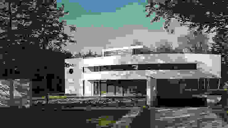 Voorgevel Moderne huizen van Lab32 architecten Modern