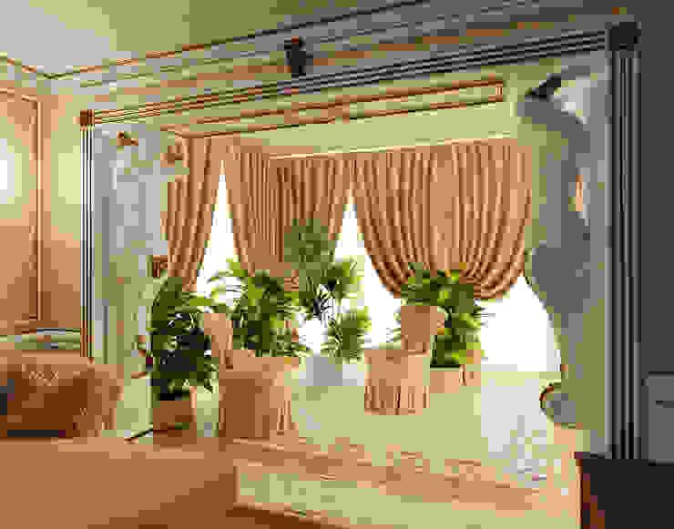 Дизайн гостиной в стиле модерн Гостиная в стиле модерн от Студия дизайна интерьера Руслана и Марии Грин Модерн