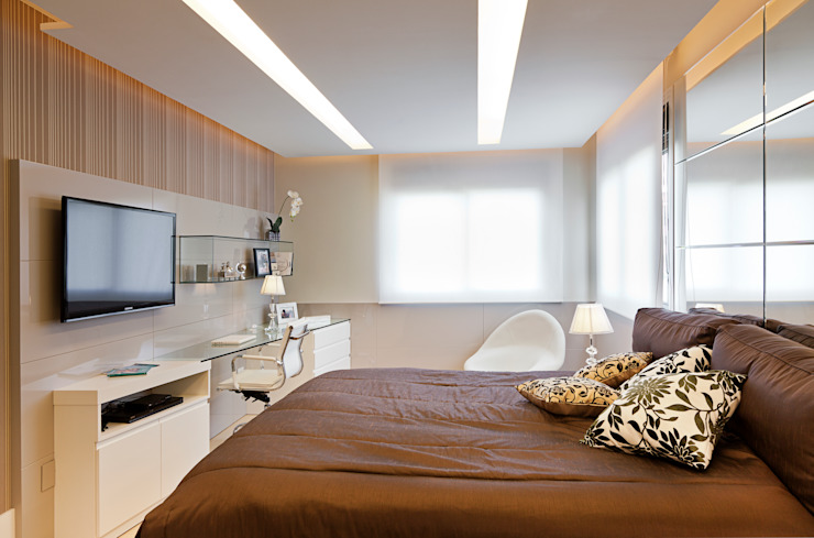 Apartamento Bela Vista 2 Quartos modernos por Mundstock Arquitetura Moderno