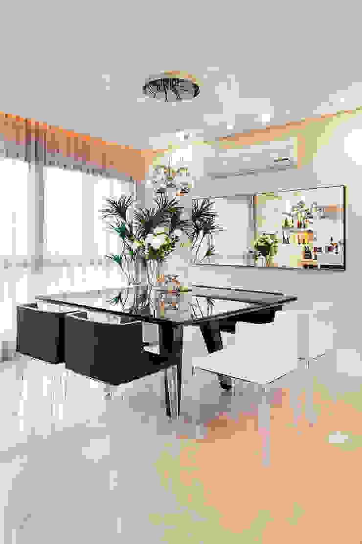 Apartamento Bela Vista 2 Salas de jantar modernas por Mundstock Arquitetura Moderno