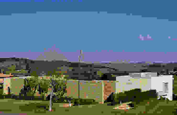 Vista fachada externa Casas modernas por Maurício Queiróz Moderno
