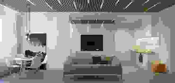 Дизайн проект квартиры от проекта до реализации Коридор, прихожая и лестница в модерн стиле от Cтудия 'ART Story' Модерн