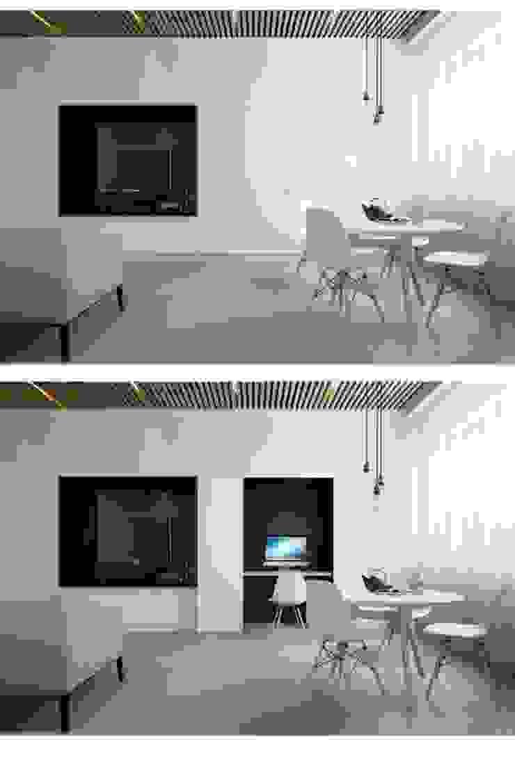 Дизайн проект квартиры от проекта до реализации Гостиная в стиле модерн от Cтудия 'ART Story' Модерн