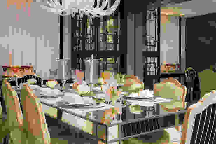 Apartamento Florianópolis | Misturando o Clássico e o contemporâneo Salas de jantar modernas por Roberta Zimmermann Buffon Moderno