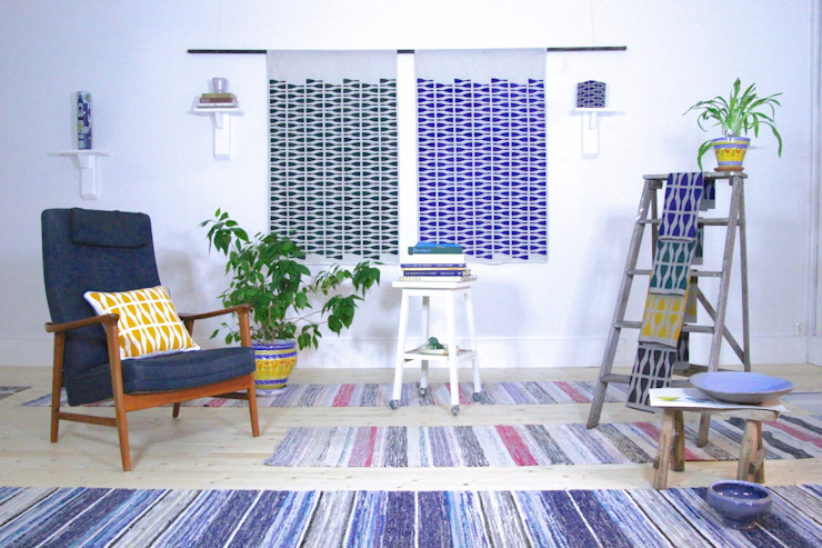 Presentation Scandinavian style living room by homify Scandinavian