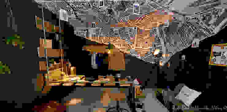 Minimalistische Arbeitszimmer von Nimeto Utrecht Minimalistisch