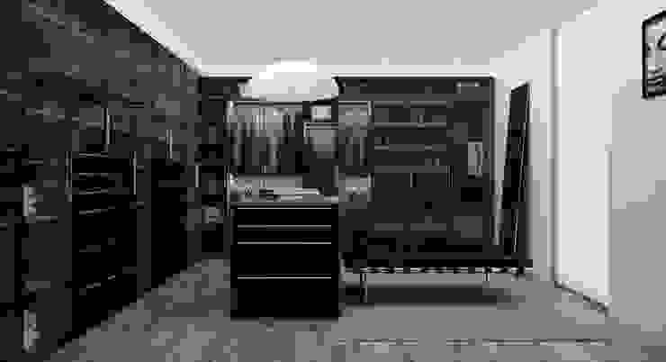Modern Dressing Room by Citlali Villarreal Interiorismo & Diseño Modern