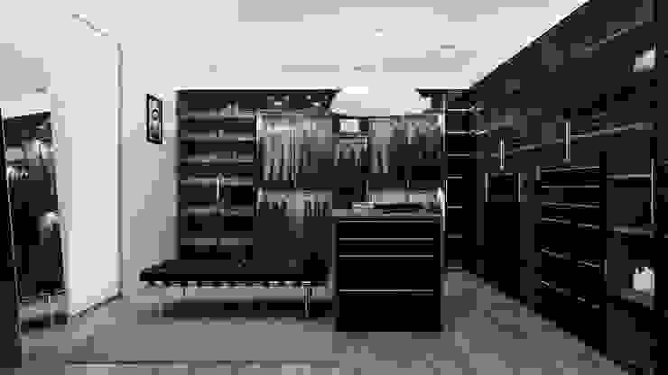 Zona El Vestidores modernos de Citlali Villarreal Interiorismo & Diseño Moderno