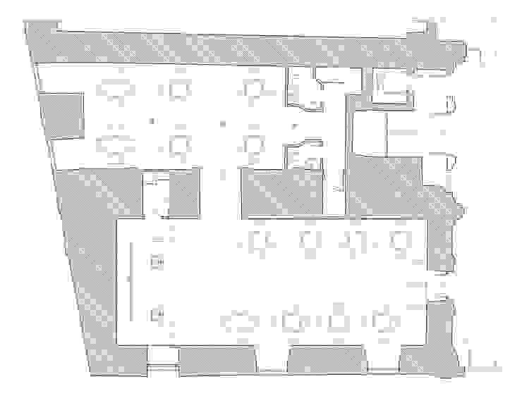 CAFFÉ MILANO. PALACIO ABRANTES. MADRID. 2011 En colaboración con PIERO RUSSI de Bescos-Nicoletti Arquitectos