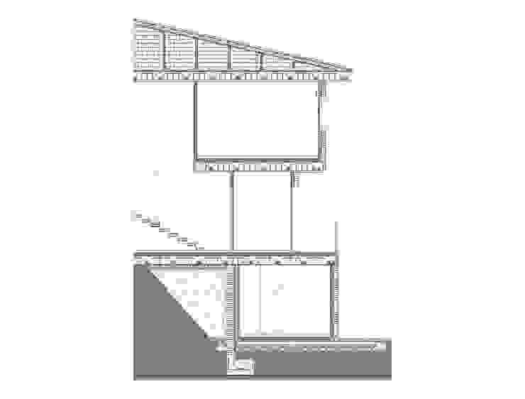 COMPLEJO DE CUATRO VIVIENDAS ADOSADAS. EL TIEMBLO. AVILA. 2007 de Bescos-Nicoletti Arquitectos