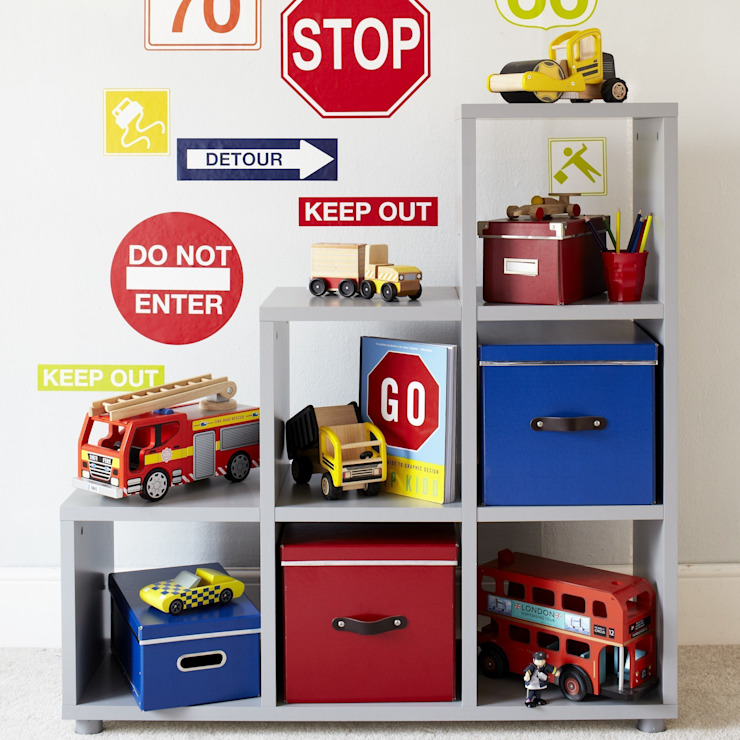 Tessera Step Cube Unit :  Nursery/kid's room by ASPACE,