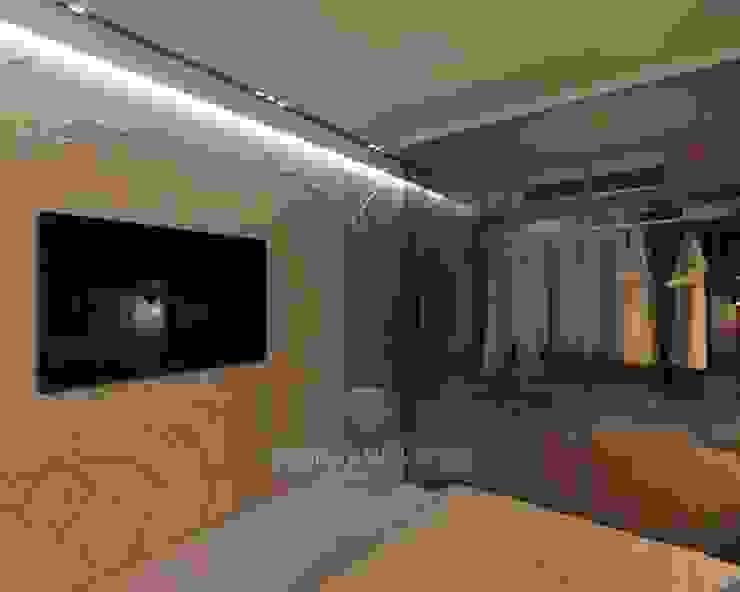 Дизайн спальни в стиле арт-деко Спальня в эклектичном стиле от Студия дизайна интерьера Руслана и Марии Грин Эклектичный