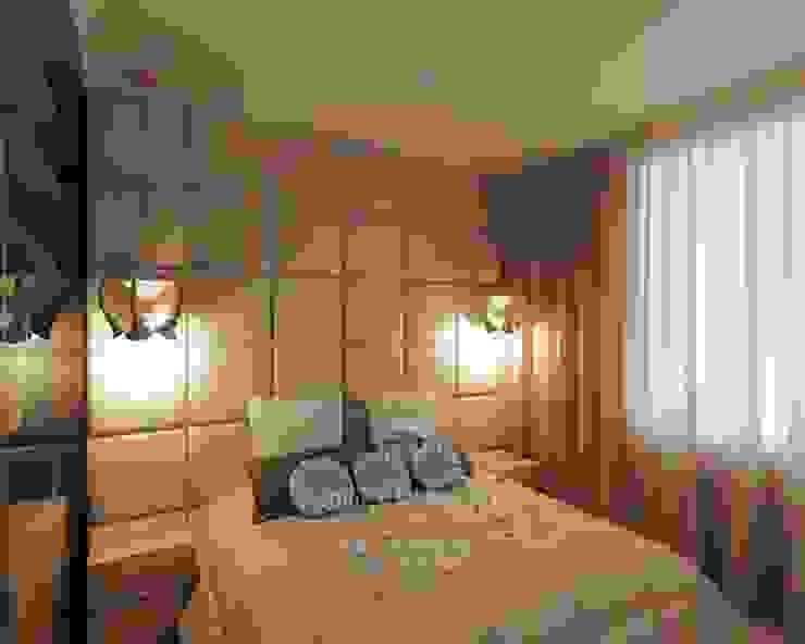 Дизайн спальни Спальня в эклектичном стиле от Студия дизайна интерьера Руслана и Марии Грин Эклектичный
