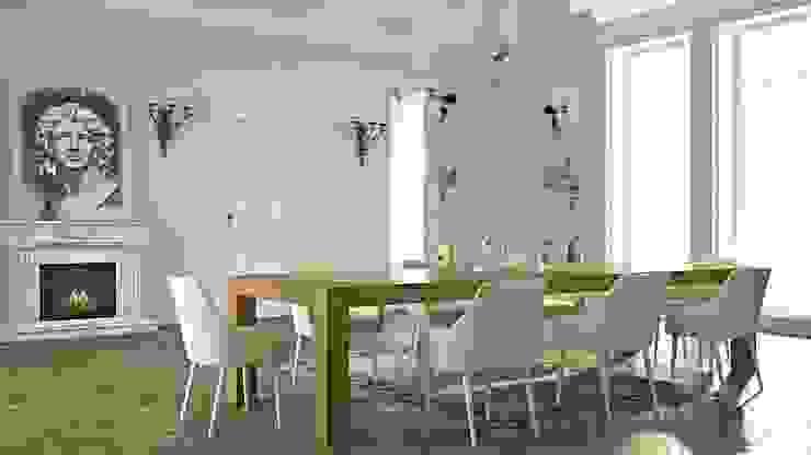 Drewniany stół w jadalni - Seed od Le Pukka Concept Store Klasyczny