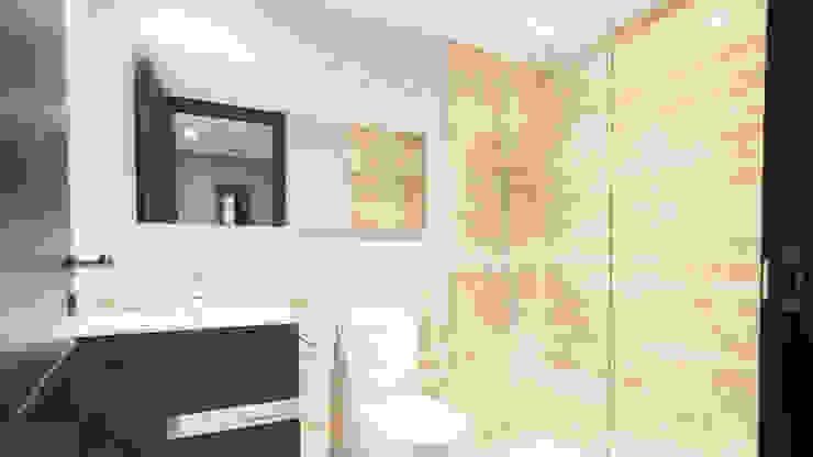 Minimalistische Badezimmer von Empresa constructora en Madrid Minimalistisch