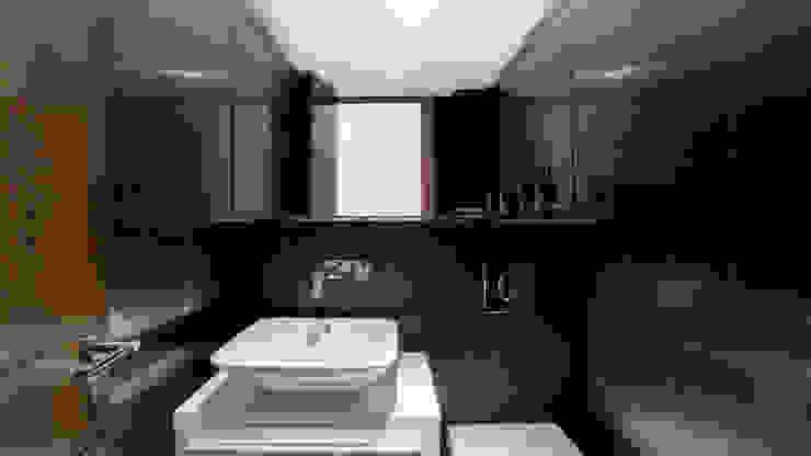 RENOVACIÓN DE VIVIENDA EN LA MORALEJA Baños de estilo minimalista de Empresa constructora en Madrid Minimalista
