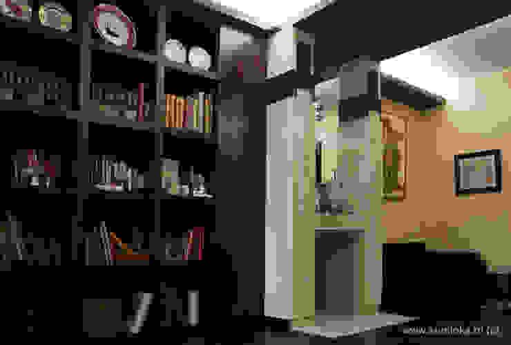 Alex-Flat Рабочий кабинет в стиле модерн от Archstudio_KA Модерн