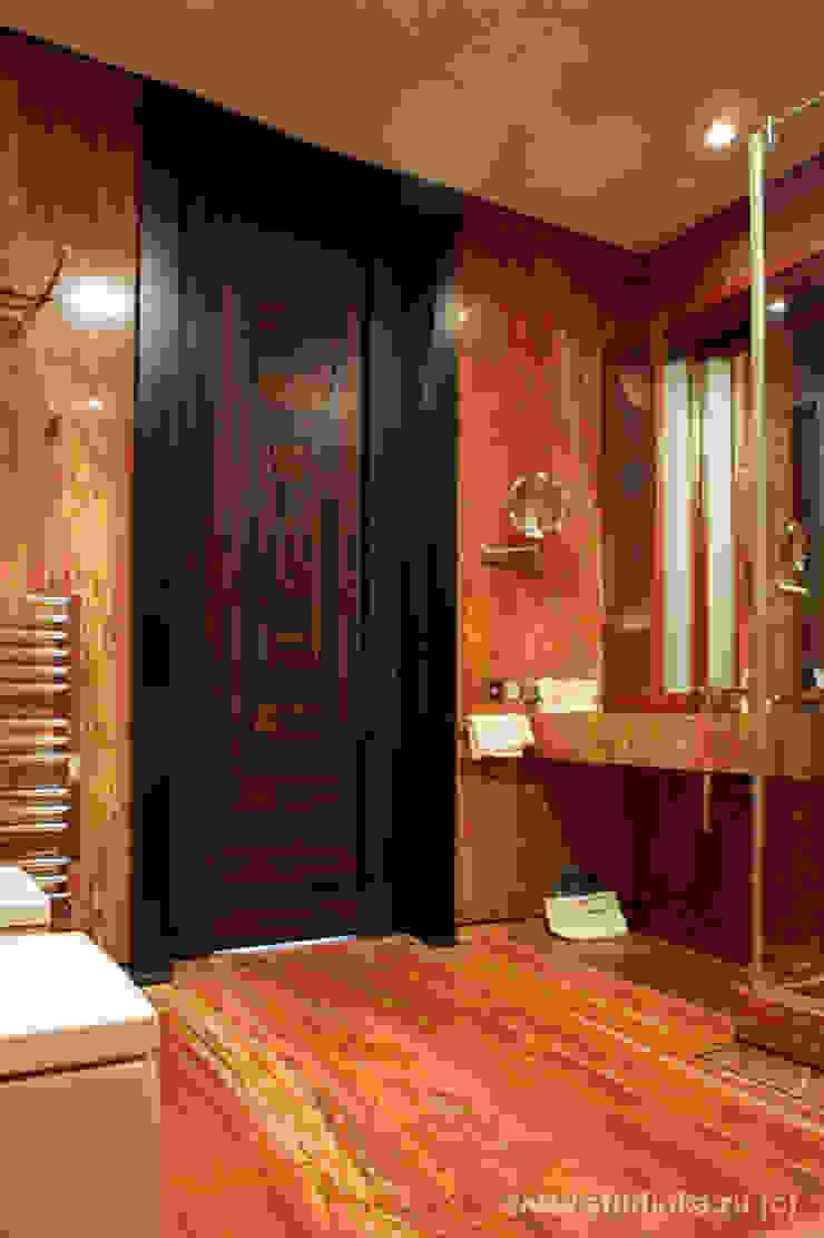 Alex-Flat Ванная комната в стиле модерн от Archstudio_KA Модерн