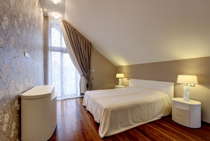 Спальня Спальня в классическом стиле от Технологии дизайна Классический