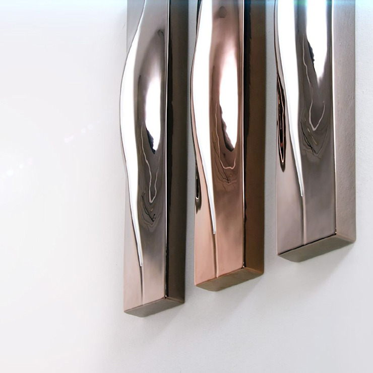 FIRE BORN wall lamps by Ekaterina Elizarova:  в современный. Автор – Elizarova Design Company, Модерн