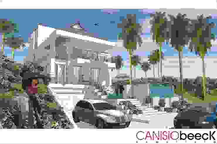 A5 Residência Casas ecléticas por Canisio Beeck Arquiteto Eclético