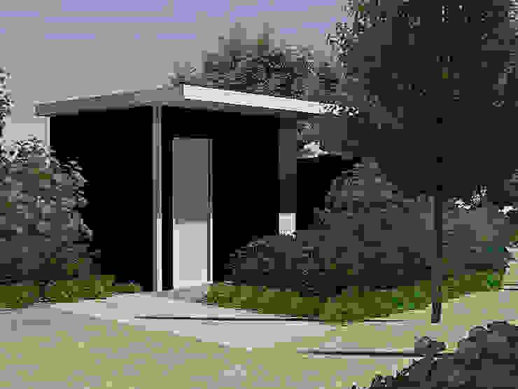 Ontwerp impressie in 3D Moderne tuinen van Bladgoud-tuinen Modern