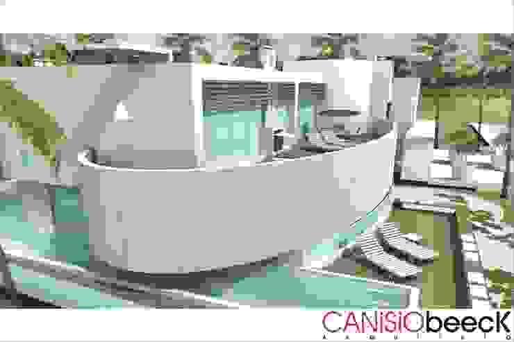 A6 Residência Casas modernas por Canisio Beeck Arquiteto Moderno