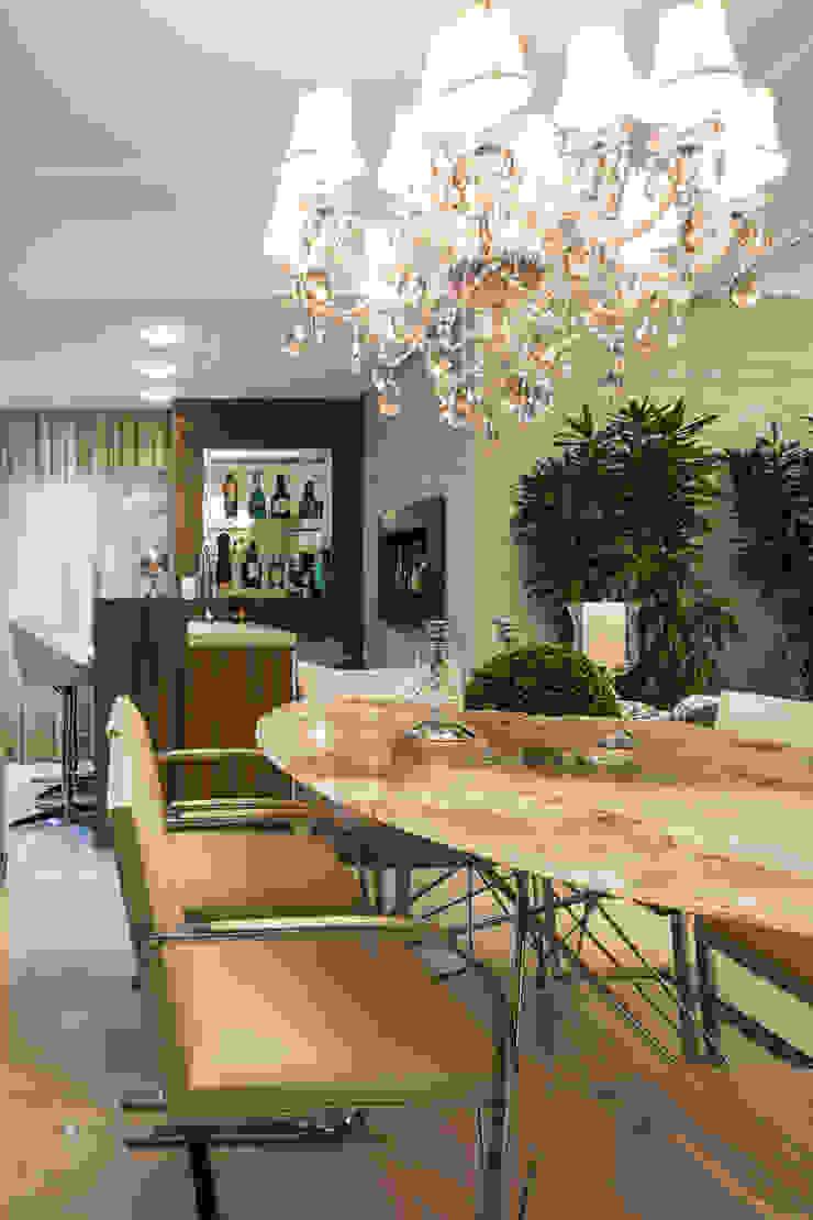 Apartamento Bela Vista 3 Salas de jantar modernas por Mundstock Arquitetura Moderno