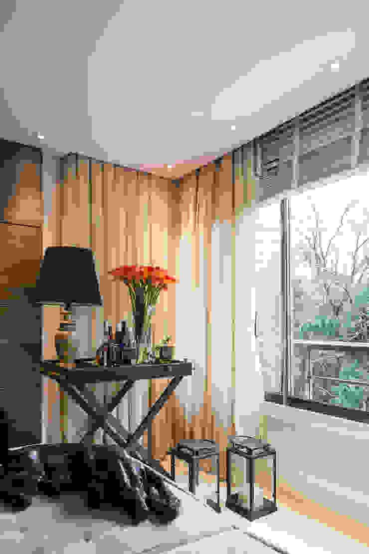 Apartamento Bela Vista 3 Salas de estar modernas por Mundstock Arquitetura Moderno